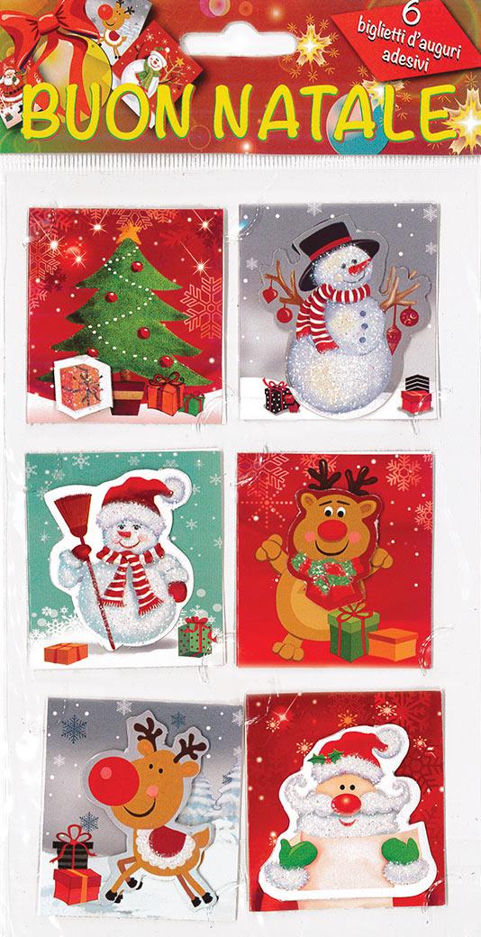 Adesivi Buon Natale.Buon Natale Euro Publishing S R L