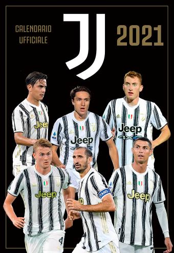 Calendario Juventus 2021 Da Parete Juventus verticale + braccialetti | Euro Publishing s.r.l.