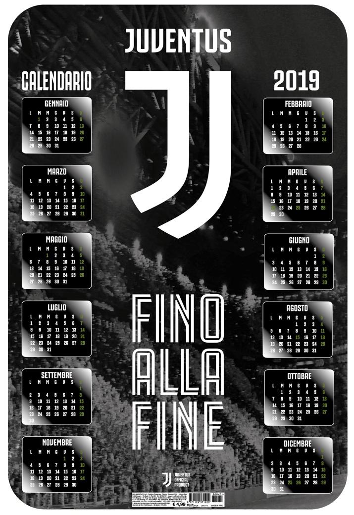 Calendario Iuve.Juventus 3d 2019 Euro Publishing S R L
