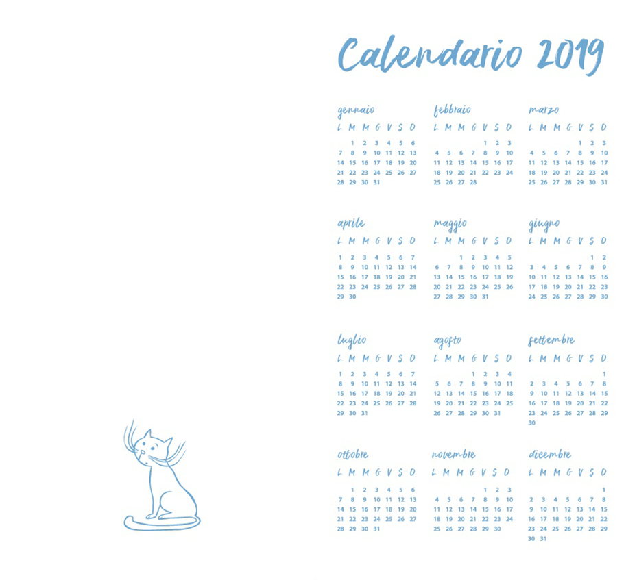 Calendar 2019 Whole Year