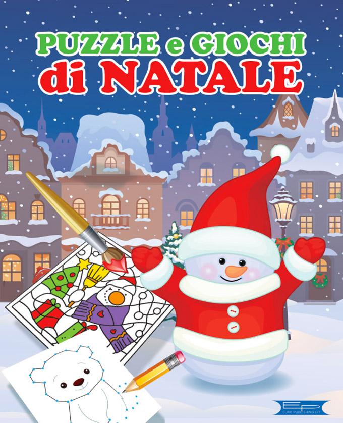 Immagini Di Giochi Di Natale.Puzzle E Giochi Di Natale Euro Publishing S R L