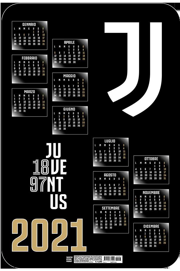 Calendario Juventus 2021 Da Parete Juventus 3D 2021 | Euro Publishing s.r.l.